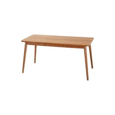 ヘンリー ダイニングテーブル テーブル ブラウン 幅150 奥行80 高さ72 150×80 木製 引き出し 4人用 ダイニング おしゃれ シンプル モダン 北欧