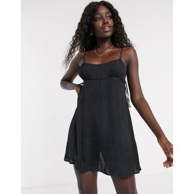 フリーピープル Free People レディース ワンピース スリップドレス ミニ丈 ワンピース・ドレス smooth sailin' mini slip dress in black ブラック