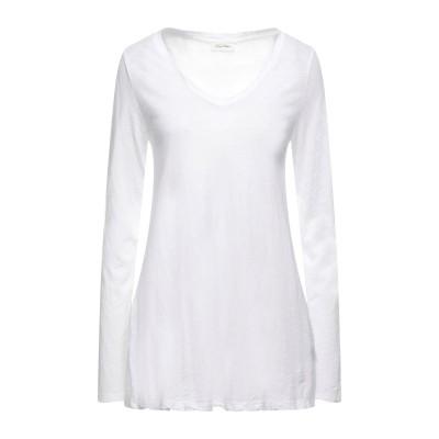 アメリカン ヴィンテージ AMERICAN VINTAGE T シャツ ホワイト S コットン 100% T シャツ