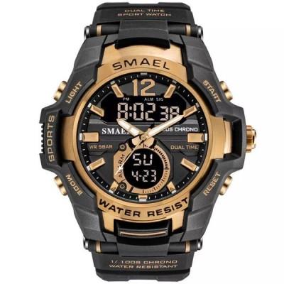 2021レディース ファッションスポーツスーパークールLED デジタル腕時計50メートル防水腕時計メンズ時計