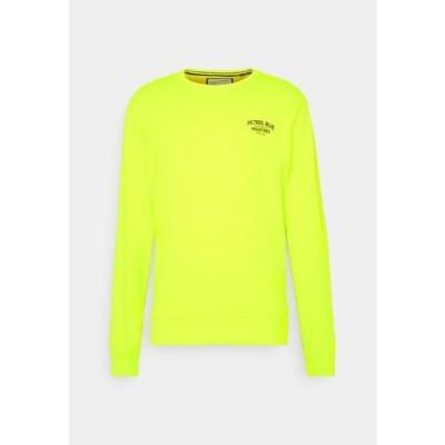 メンズ スウェット Sweatshirt - safety yellow