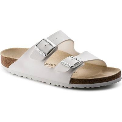 ビルケンシュトック BIRKENSTOCK レディース サンダル・ミュール シューズ・靴 Arizona Soft Footbed Sandals WHITE