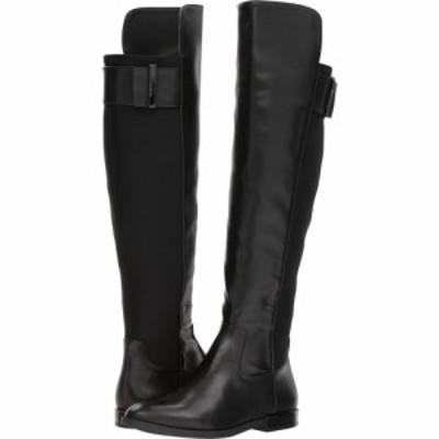 カルバンクライン Calvin Klein レディース ブーツ シューズ・靴 Priya Black Cow Silk/Neoprene