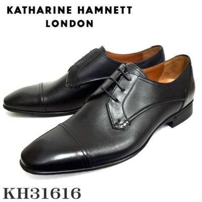 KATHARINE HAMNETT キャサリンハムネットメンズビジネスシューズ KH31616 ブラック