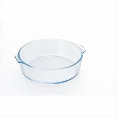取寄品 Bake Cook ベイクック 耐熱ガラス調理器 ロースターラウンド M 石塚硝子食器通販