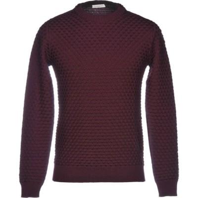 パオロ ペコラ PAOLO PECORA メンズ ニット・セーター トップス sweater Maroon