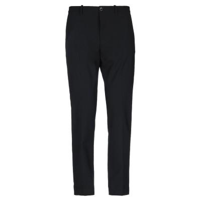 NINE:INTHE:MORNING パンツ ブラック 48 コットン 53% / バージンウール 43% / ポリウレタン 4% パンツ