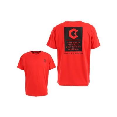 ジローム(GIRAUDM) ドライ 吸汗速乾 UVカット 半袖メッシュTシャツ 863GM1CD6667 RED (メンズ)