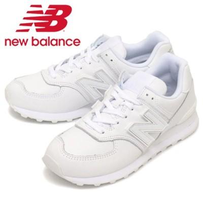 new balance (ニューバランス) ML574 NJ スニーカー WHITE NB731