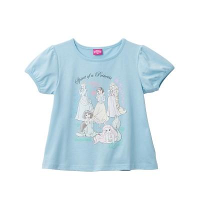 【ディズニー】半袖Tシャツ(女の子 ベビー服 子供服) (Tシャツ・カットソー)Kids' T-shirts