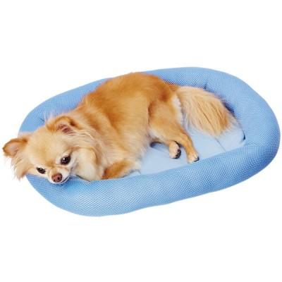 ペティオ 犬猫用ベッド ひんやり抗菌防臭あごのせベッド S オールステージ 超小型犬~小型犬 全猫種 短毛 長毛 クール 接触冷感 Petio