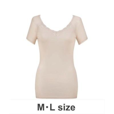 下着 「綿100% シャリ感タイプ」 インナー(3分袖)(M,Lサイズ)