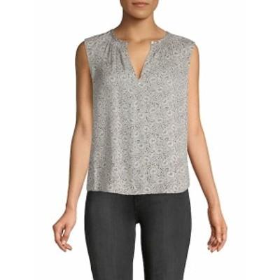 レベッカテイラー レディース トップス シャツ Briar Printed Sleeveless Silk Top