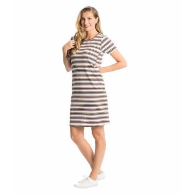 エベリーグレイ ワンピース トップス レディース Aluisa Maternity/Nursing Dress Lavender Stripe