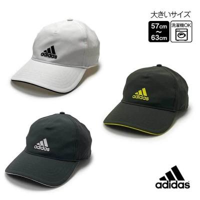 adidas 洗濯機で洗える BBキャップ UPF50+ M〜4Lサイズ 大きいサイズ UVカット 帽子 GNS00