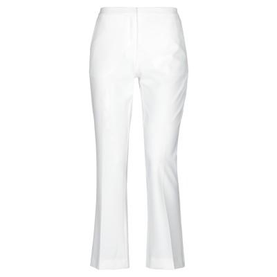 MAESTA パンツ ホワイト 44 ポリエステル 95% / ポリウレタン 5% パンツ