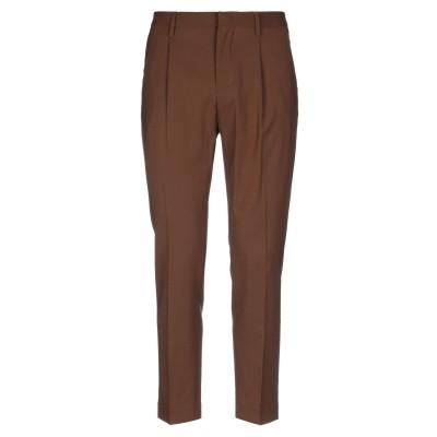 アントレ アミ ENTRE AMIS パンツ ブラウン 29 バージンウール 98% / ポリウレタン 2% パンツ