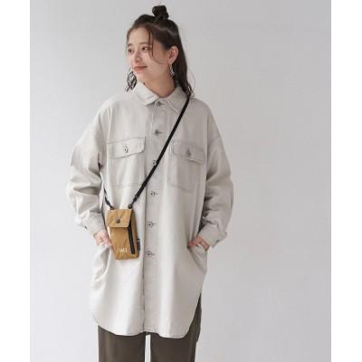 【ロペピクニック】 カラーデニムシャツジャケット レディース グレー系 38 ROPE' PICNIC