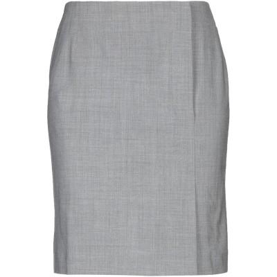 MARELLA ひざ丈スカート グレー 40 レーヨン 60% / ウール 36% / ポリウレタン 4% ひざ丈スカート