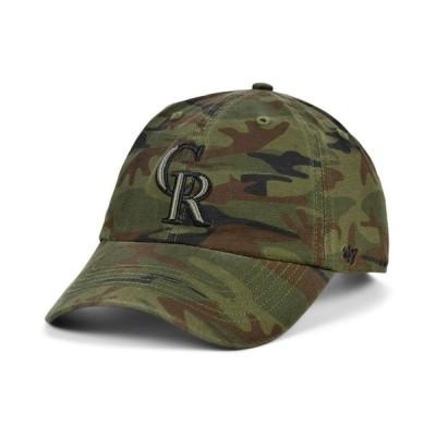 47ブランド メンズ 帽子 アクセサリー Colorado Rockies Regiment CLEAN UP Cap
