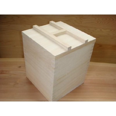 米びつ・ライスストッカー(のせ蓋式)3kgタイプ(約2〜3kg容量)