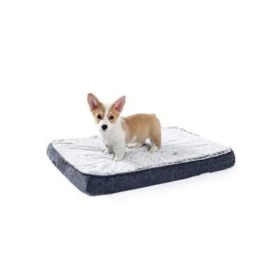 ペットベッド 犬ベッド 犬クッション 低反発 高反発 二層構造 ウレタン 関節保護 老犬介護 Small