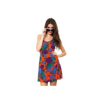 ボルコム ドレス ワンピース VOLCOM サーフ レディース JUNIORS TAKE ME HOME TANK ドレス サイズ スモール 19-4 RET 49.50