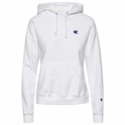 (取寄)チャンピオン レディース リバース ウィーブ C ロゴ パーカー フーディ Champion Women's Reverse Weave C Logo Hoodie White