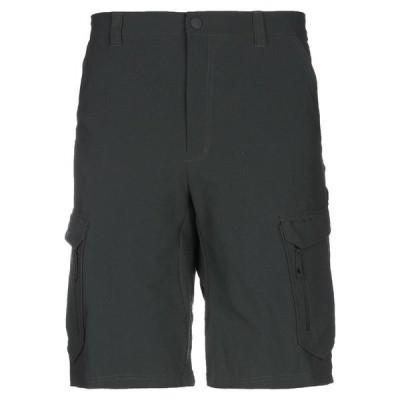 MUSTO ショートパンツ&バミューダパンツ  メンズファッション  ボトムス、パンツ  ショート、ハーフパンツ スチールグレー