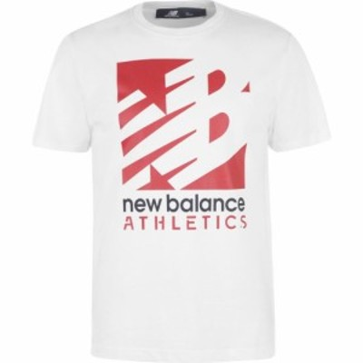 ニューバランス New Balance メンズ Tシャツ トップス Knockout T-Shirt White