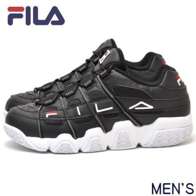 【店頭同時販売】FILA フィラ フィラバリケード XT 97 F0414-0014 BARRICADE メンズ スニーカー 靴 ブラック 黒 厚底 ダット シューズ トレンド ロゴ 復刻
