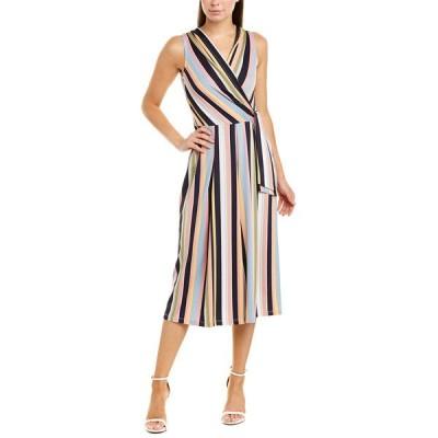 ティアナビー ワンピース トップス レディース Tiana B. Jumpsuit multicolor stripe