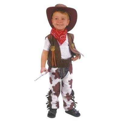 カウボーイ子供用(1-3歳用)仮装コスプ衣装