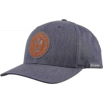 コロンビア Columbia メンズ キャップ スナップバック 帽子 Trail Essential Snap Back Hat Nocturnal Heather