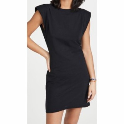 フレーム FRAME レディース ワンピース ワンピース・ドレス Padded Shoulder Dress Noir