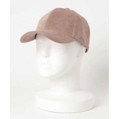 VIBGYOR / 【Holiday A.M/ホリデーエーエム】細コーデュロイキャップ WOMEN 帽子 > キャップ