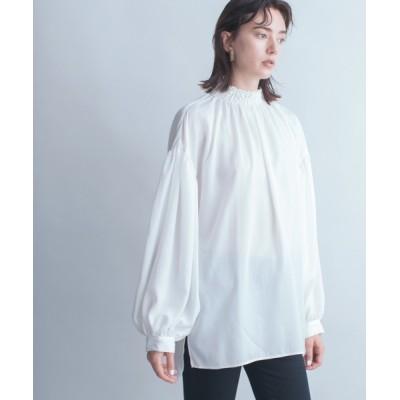 JEANASIS / 【eL】Shirring Shirts Pullover/894283 WOMEN トップス > シャツ/ブラウス
