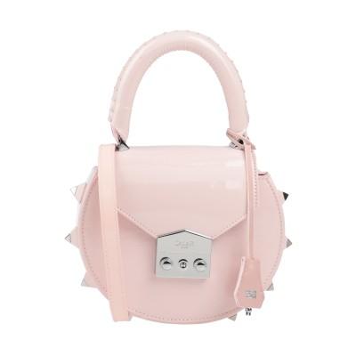 SALAR ハンドバッグ ライトピンク 牛革(カーフ) 100% ハンドバッグ
