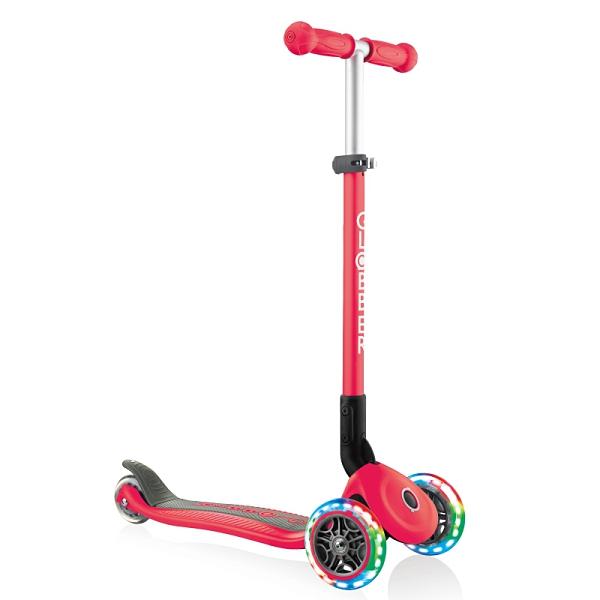 Globber 折疊滑板車 紅