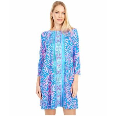 リリーピュリッツァー ワンピース トップス レディース Ophelia Dress Pundy Blue La Zebra Engineered