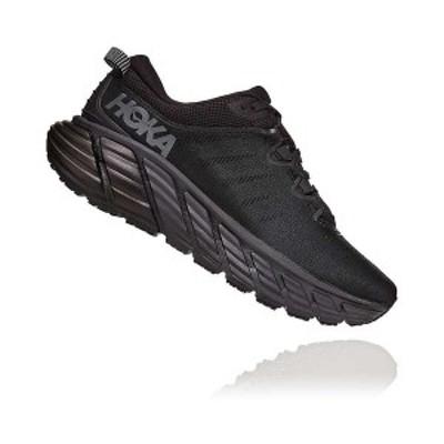 ホッカオネオネ メンズ スニーカー シューズ Hoka One One Men's Gaviota 3 Shoe Black / Black
