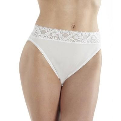 カベルネ レディース パンツ アンダーウェア Seamed To Fit Stretch Hi-Cut Lace Brief Panty