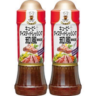 キユーピーキユーピー テイスティドレッシング和風 香味玉葱 210ml 1セット(2本)