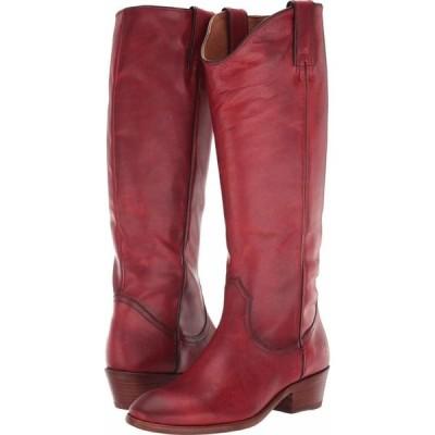 フライ Frye レディース ブーツ シューズ・靴 Carson Pull-On Crimson Leather Extended