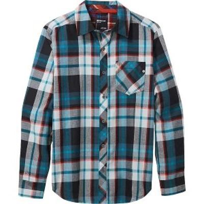 マーモット メンズ シャツ トップス Marmot Men's Anderson Lightweight Flannel Shirt Black