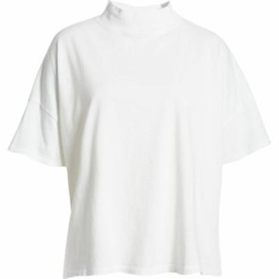 フリーピープル FREE PEOPLE レディース トップス Fearless Mock Neck Top Painted White