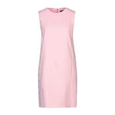 VERSACE ミニワンピース&ドレス ピンク 42 レーヨン 97% / ポリウレタン 3% ミニワンピース&ドレス
