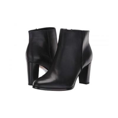 Clarks クラークス レディース 女性用 シューズ 靴 ブーツ アンクル ショートブーツ Kaylin Fern - Black Leather