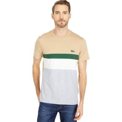 ラコステ Lacoste メンズ Tシャツ トップス Short Sleeve Color-Block Tee