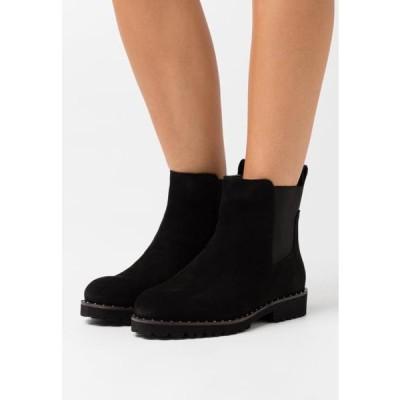 レディース 靴 シューズ WIDE FIT CALLA - Classic ankle boots - black